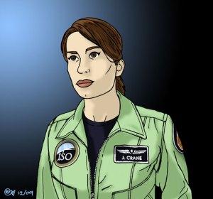 Christina Cox as 'Jen Crane'