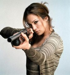 "Jennifer Lopez as 'Karen Sisco' in ""Out of Sight"""