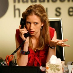 "Emily Perkins as 'Crystal Braywood' in ""Hiccups"""