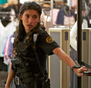 "Tania Raymonde as 'Officer Carla Rinaldi' in ""Death Valley"""