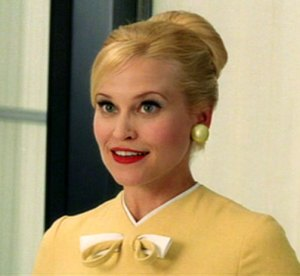 """Dorie Barton as 'Sally' in """"Down With Love"""""""