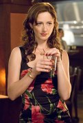 "Judy Greer as 'Casey' in ""27 Dresses"""