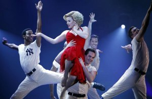 "Megan Hilty as 'Ivy Lynn' in ""Smash"""