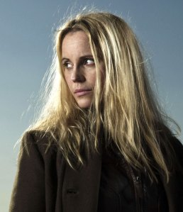 """Sofia Helin as 'Saga Norén' in """"The Bridge"""" (aka """"Bron / Broen"""")"""