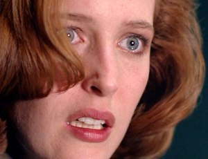 "Gillian Anderson as 'Special Agent Dana Scully, M.D' in ""The X-Files"" (S3)"