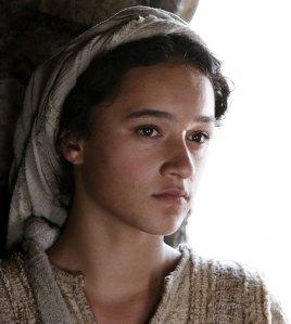 """Keisha Castle-Hughes as 'Mary' in """"The Nativity Story"""""""