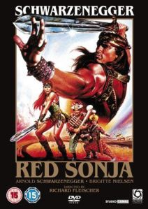 """Red Sonja"" DVD cover"