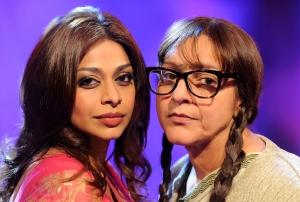 """Ayesha Dharker as 'Priya' and Meera Syal as 'Mala' in """"Playback"""""""