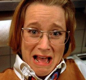 "Heidi Swedberg as 'Susan Ross' in ""Seinfeld"" (S4)"
