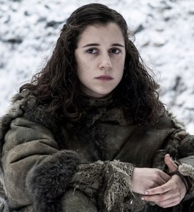 "Ellie Kendrick as 'Meera Reed' in ""Game of Thrones"" (ep #6.2)"