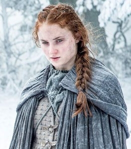 "Sophie Turner as 'Sansa Stark' in ""Game of Thrones"" (ep #6.1)"