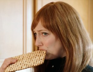"Judy Greer as 'Esther' in ""The Hebrew Hammer is Back: Make America Kosher Again!"" (#MAKA)"