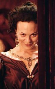 """Helen McCrory as 'Barbara Villiers' in """"Charles II: The Power and the Passion"""""""
